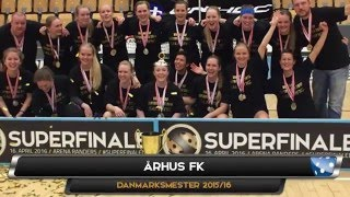 Superfinale 2016 | Damer | AaB Floorball - ÅFK | 2 - 6 | Highlights