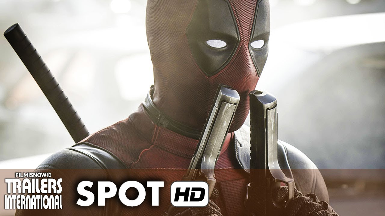 DEADPOOL Spot Oficial Legendado - Ryan Reynolds Marvel [HD]