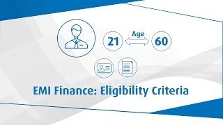 EMI Finance | Eligibility Criteria | Bajaj Finserv