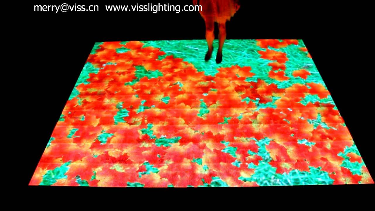 Interactive Led Floor Led Dance Floor Screen Youtube