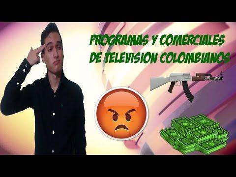 Cosas que odio: Programas y comerciales de colombia en la TV