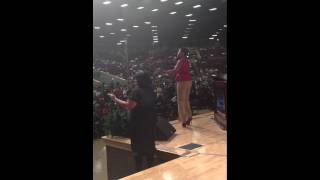 Jessica Reedy Video - Jessica Reedy at Salem Baptist Church after the track went off....BEAST