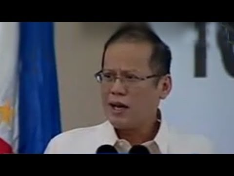 Pres. Noynoy Aquino delivers speech at the 1st National Criminal Justice Summit