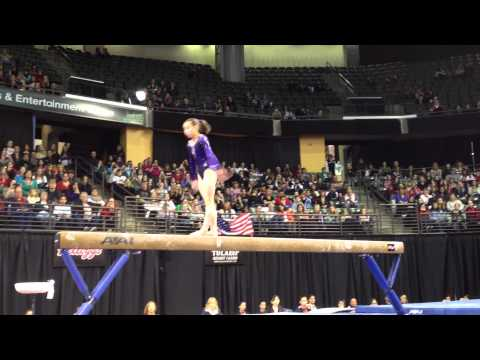 Katelyn Ohashi - Balance Beam Finals - 2012 Kellogg&#039;s Pacific Rim Championships - 1st
