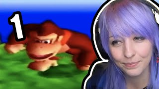 DONKEY KONG 64 Infuriatingly Blind Playthrough Part 1