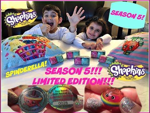 Shopkins SEASON 5!!! LIMITED EDITION!!! Spinderella!!!!