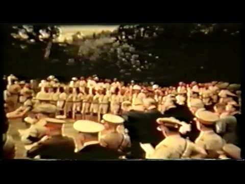 Funeral de Baden Powell (fundador do Escutismo) 1941