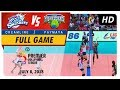 PVL RC Season 2 - WD: Cool Smashers vs. High Flyers | Full Game | 1st Set | July 8, 2018