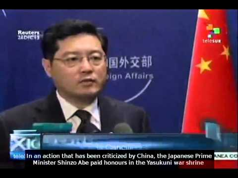 China and South Korea condemn Shinzo Abe's Yasukuni shrine visit