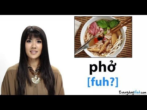 0 Learn Vietnamese: Lesson 15: Vietnamese Food: How To Pronounce Pho, Banh Mi & More