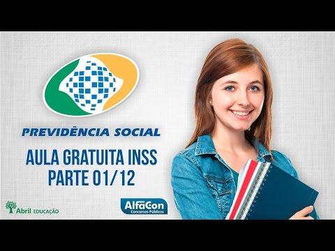 Aula Gratuita Para O Inss - Direito Previdenciário (parte 1 12) video