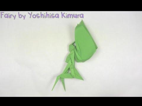 Красивое оригами - Фея за