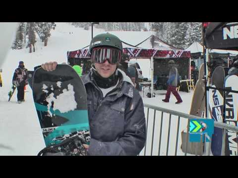 Salomon Huck Knife Review Preview Levi - Board Insiders - 2017 Salomon Snowboards Huck Knife Review