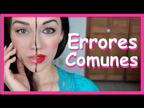 HORRORES! Errores comunes del maquillaje