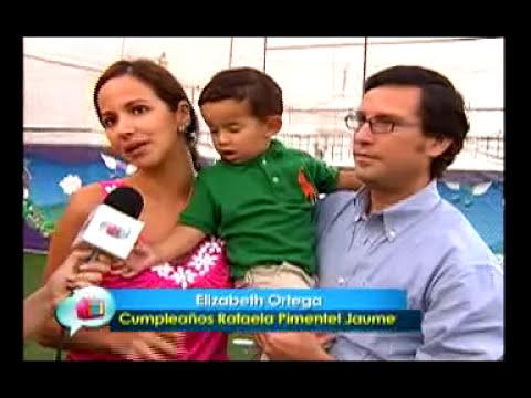 Cumple Rafaela Pimentel