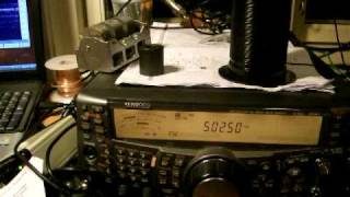 500 kHz (600 meter band) LA3EQ in contact with G3KEV