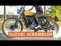 Scrambler Suzuki DR650 RSE Fallout - Custombike - Reichmoto - Stráž Nad Nežárkou