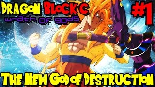 Dragon Block C: Wrath of Gods (Minecraft Roleplay) - Episode 1 | The New God of Destruction!