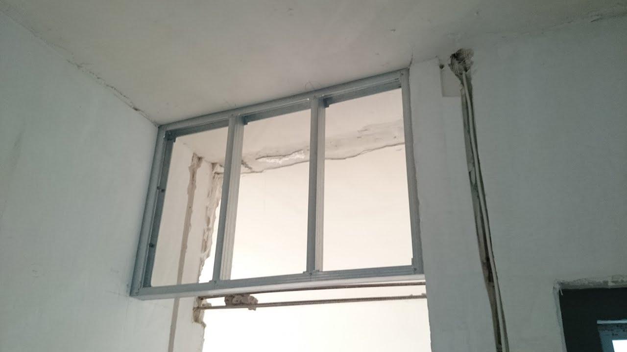 Межкомнатные перегородки из гипсокартона с дверью: делаем 47