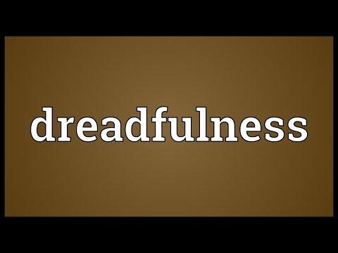Header of dreadfulness