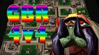 Warcraft 3 - Spider Square (4v4 #2)