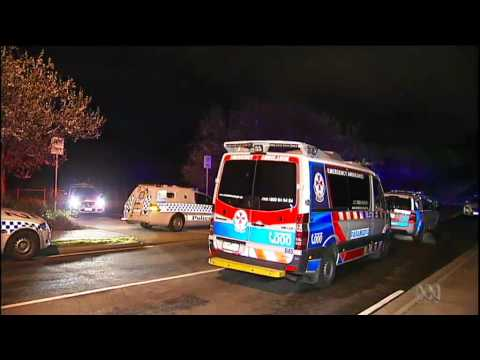 Man charged over Melbourne park stabbing