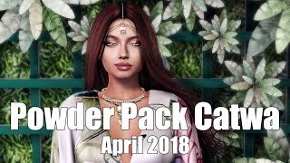 Powder Pack Catwa April 2018 - Unboxing Video - Second Life Subscription Box