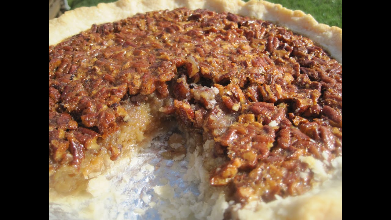 Thanksgiving Day SOUTHERN PECAN PIE - How to make PECAN ...