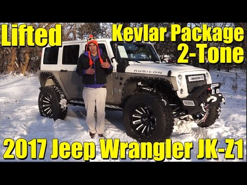 KEVLAR 2-TONE PACKAGE! Amazing LIFTED Custom 2017 Jeep Wrangler Rubicon! JK-Z2 by SCA Performance