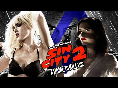 JESSICA ALBA & EVA GREEN talk Sin City 2: A Dame To Kill For (Nerdist Special Report)