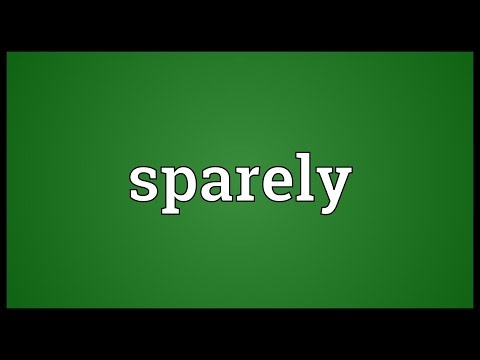 Header of sparely