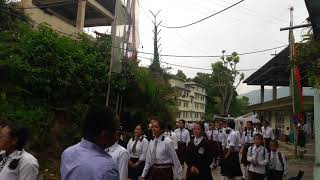 Anti-terrorism day absorbing at Betokiens school..