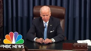 Joe Biden Emotional As Mitch McConnell, Harry Reid, Rename Part Of Bill After Beau Biden | NBC News