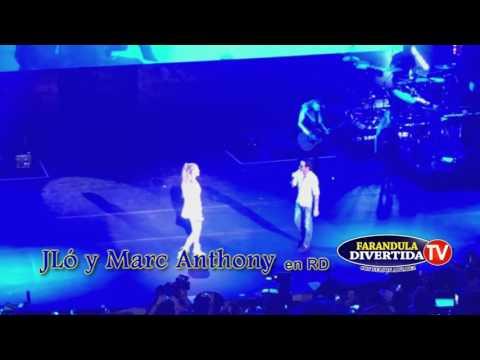 Jennifer Lopez canta Junto a Marc Anthony en  Altos de Chavón República Dominicana