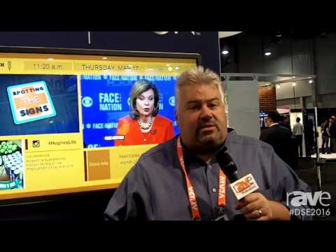 DSE 2016: Hughes Shows Employee Engagement Solutions Including Breakroom TV