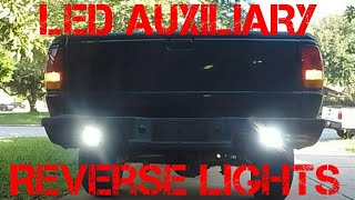 Ford Ranger: Let There Be Light PT.3 - Installing LED Auxiliary Reverse Lights