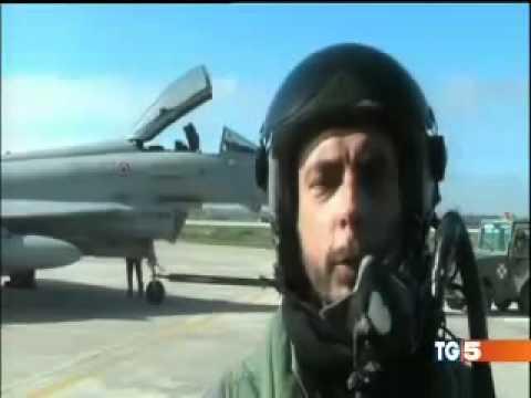 AEREO DELL`ETHIOPIAN AIRLINES DIROTTATO: INTERVENTO CACCIA MILITARI ITALIANI (TG5 17.02.2014)