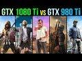 GTX 1080 Ti Vs GTX 980 Ti 4K Resolution 5 Games Tested mp3