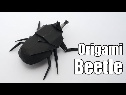 How To Make Paper Beetle | Creative Origami Beetle | Easy Steps To Follow