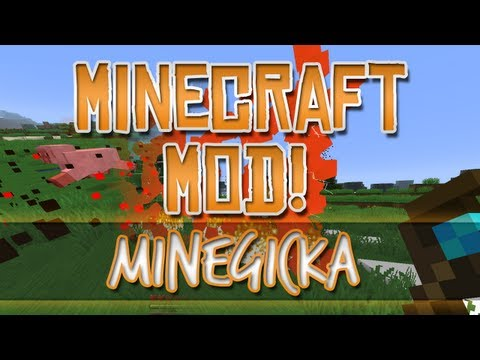 Minecraft Mod! - Minegicka (Magicka)