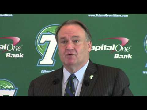 Tulane Athletic Director News Conference - Friday, December 4