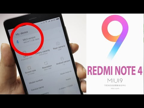 How to Install MIUI 9 On Redmi Note 4 without Root