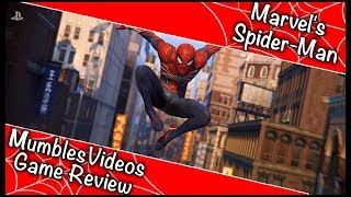 Best Super Hero Game to date? - Marvel's Spider-Man - MumblesGame Review