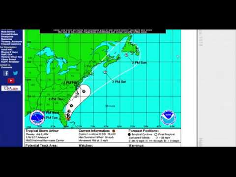 HURRICANE ARTHUR TAKING AIM AT FEMA REGION III - NEWS247