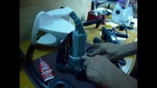 portable steam iron leak repair improvements