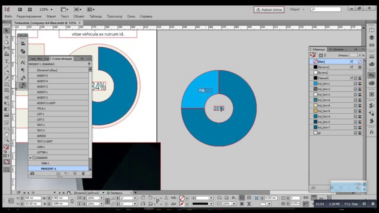 How to make an infographic in indesign