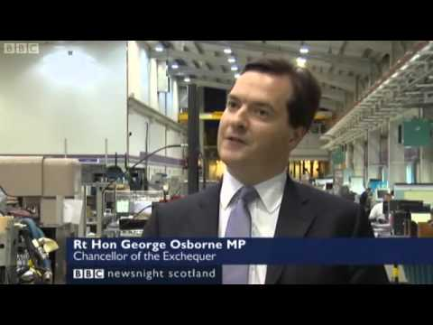 George Osborne on Newsnight Scotland