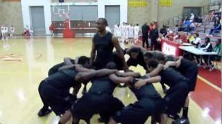 Lincoln Hornets pregame basketball routine