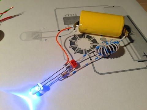 Светильник с батарейным питанием своими руками 93