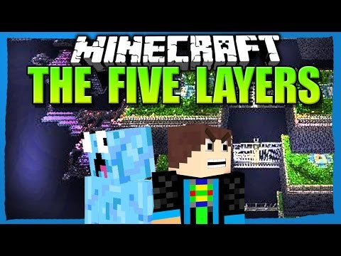 Minecraft: THE FIVE LAYERS: SPANNEND - YOUTUBER PvP Map EVENT [3/3]
